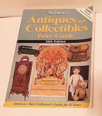 Warman's Antiques and Collectibles Price Guide 36th Edition
