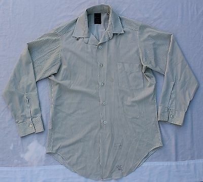 Vintage 50's Sears Premiere Tapered Collar Snap Dress Shirt