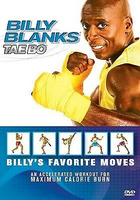 BILLY BLANKS TAE BO Favorite Moves (DVD) bootcamp workouts cardio SEALED NEW