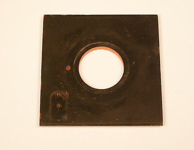 Lens board for Graflex 4x5 Anniversary or Graphic View cameras - 36mm opening