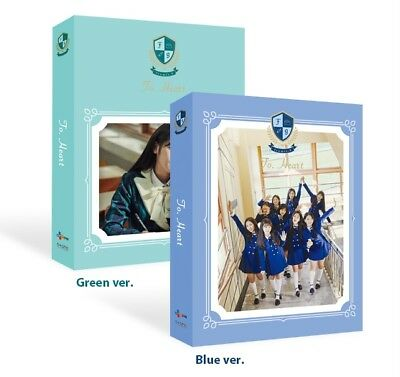 Fromis_9-[To.Heart]1st Mini Album Random Ver CD+Book+Post+Card+Letter+Patch KPOP