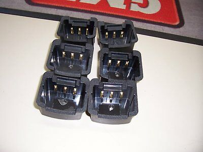 6x TX7200 charging cradle inserts ( CP001 ), suits BCM001, 6 slot charger.
