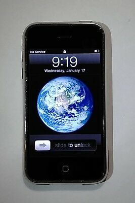 Apple iPhone 1st Generation 2G A1203 4GB AT&T IOS 3.1.3 Nice Condition