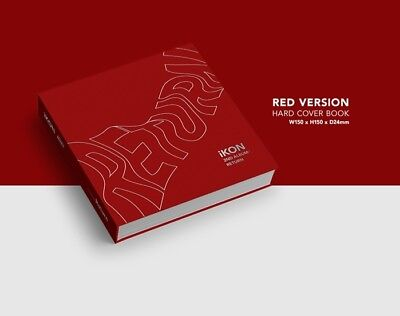 iKON-[Return]2nd Album Red Ver CD+Poster+PhotoBook+Post+PhotoCard+Sticker+etc