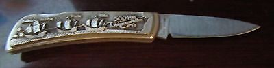 Limited Edition Christopher Columbus Commemorative Knife celeb 500 years