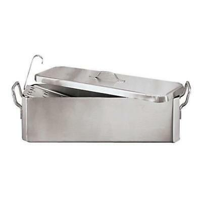 World Cuisine - 11963-70 - 21 qt Stainless Steel Fish Poacher