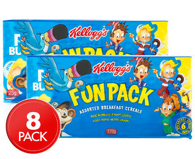 2 x Kellogg's Cereal Fun Pack 170g