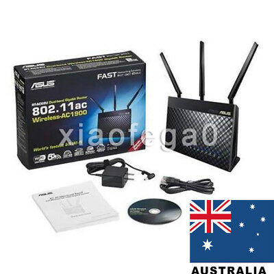 New ASUS RT-AC68U Dual Band Wireless AC1900 Gigabit Router In Australia Shipment