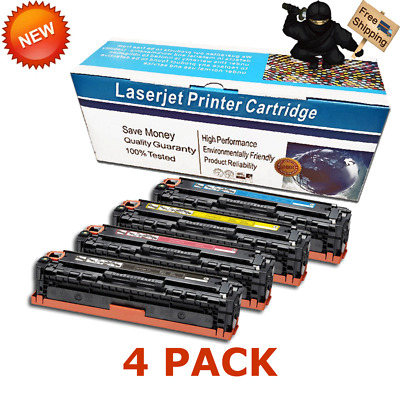 Compatible for Canon 131 ImageClass LBP7110Cw MF8280Cw MF624Cw BCMY Toner Lot