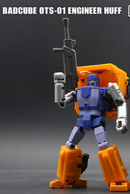 Transformers TOY Badcube BC OTS-01 Huff G1 Huffer action figure new instock