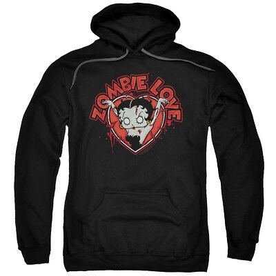 Betty Boop Heart You Forever Pullover Hoodies for Men or Kids