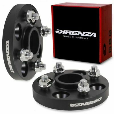 DIRENZA HUBCENTRIC ALLOY 20MM 4x100 WHEEL SPACERS FOR HONDA ACCORD CIVIC CRX