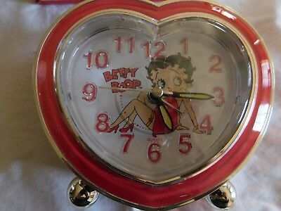 Betty Boop Alarm Clock Musical Bright Ideas Unlimited BB511 Batteries not with