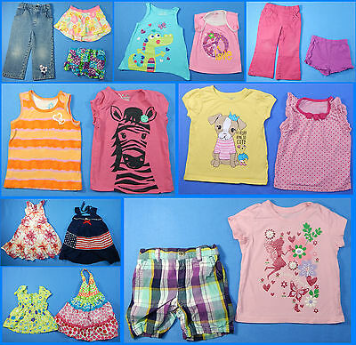 17 Piece Lot of Nice Clean Girls Size 2T 2 Spring Summer Everyday Clothes ss259