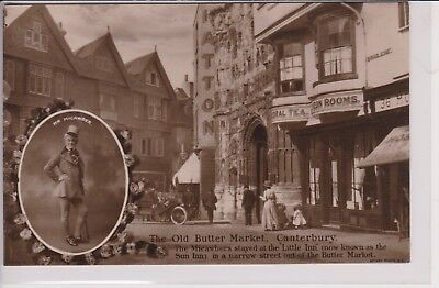 UK CANTERBURY CHARLES DICKENS MICAWBER Rotary Photographic Antique Postcard P004