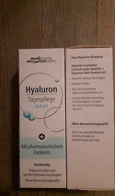 Medipharma Cosmetics Hyaluron Tagespflege riche