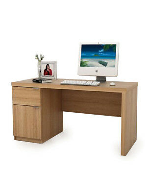 JONUS Stylish and Modern Computer Desk Office Work Station BDW/P102/TK