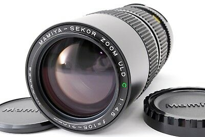 Mamiya Sekor Zoom ULD C 105-210mm F/4.5 MF Lens from japan (1112)