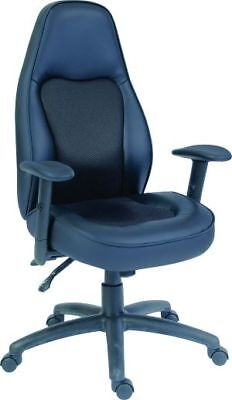 Rapide Luxury Leather & Mesh Executive Operator Office Swivel Computer Chair