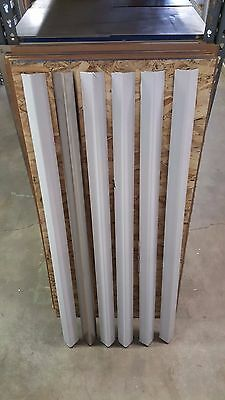 "Stainless Steel Corner Guards 1 1/2"" x 1 1/2"" x 72"" (Set of 4)"