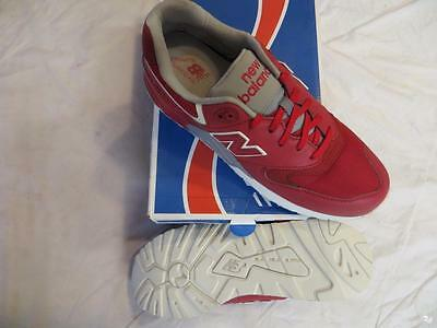 New Balance 999 Elite Edition Solarized  Men's Sz 10.5 Red/wht/grey Ret$130 Nib
