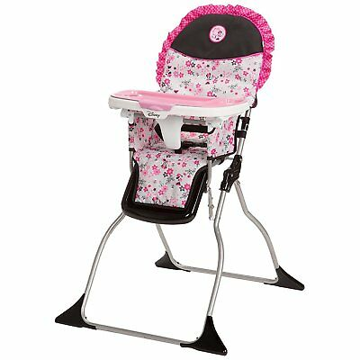 Disney Baby 3 Position Simple Fold Plus Minnie Mouse Garden Delight High Chair