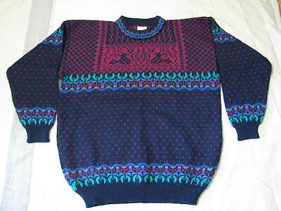 New Never Worn! Dale Of Norway Since 1879 100% Pure New Wool Sweater Mens Xxl
