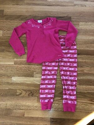 Retired American Girl Fair Isle Pajamas PJs for Child Size Small Size 7-8