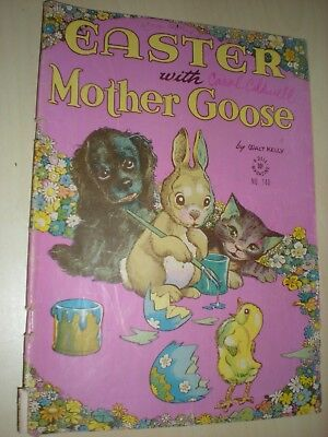 Easter With Mother Goose, # 140, Walt Kelly, Dell Four Color Comics, 1947