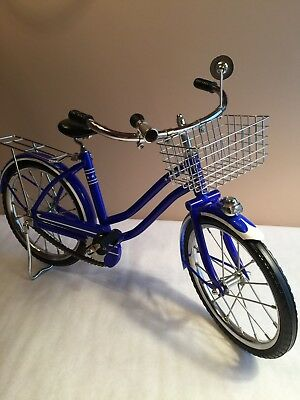 American Girl Doll~Molly's Blue Cruiser Bicycle