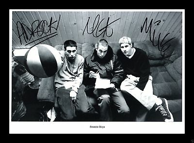 Beastie Boys Autographed 8x10 Photo (RP)
