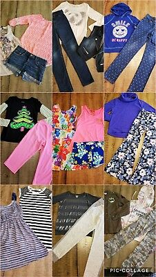Girls Lot of 26 Pc 10/12-Justice Gap Spring Summer Clothes Outfits