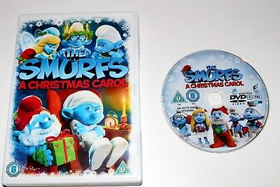 The Smurfs Christmas Carol (DVD, 2013)