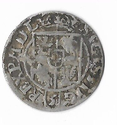 1622 Silver 1/24 Thaler Rare Very Old Medieval Era Nice Ancient Collection Coin