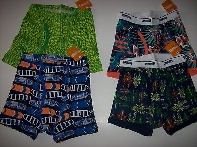 633827c1891 NWT GYMBOREE BOYS Boxer Brief Underwear 3pair pack Halloween Glow in ...