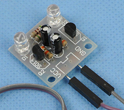 5mm DIY Kits 5MM LED Simple Flash Light Simple Flash Circuit Production Board