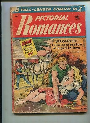 Pictoral Romance's #17 (2.0) Baker Art! Hard To Find!