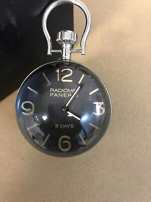Officine Panerai 8 Day's 65mm Stainless Steal Table Clock Dealer Clock