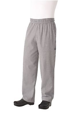 Chef Works NBBP Basic Baggy Chef Pants Small Check XXXX-Large New