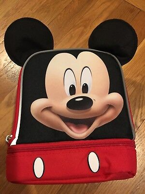 Disney Junior Mickey Mouse Insulated Lunch Bag Brand New With Tags