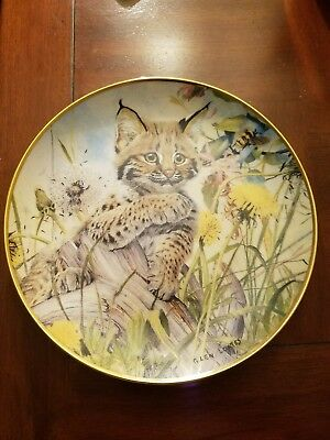 """Franklin Mint Heirloom Recommendation """"Let's Bee Friends"""" Limited Edition Plate"""
