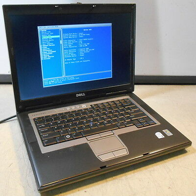 Dell Latitude D820 Intel Core 2 Duo @ 1.66GHz 2GB Laptop Computer, No HDD