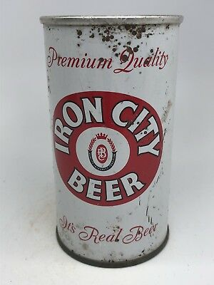 Iron City Beer - Flat Top From Pittsburgh, Pennsylvania. - PA