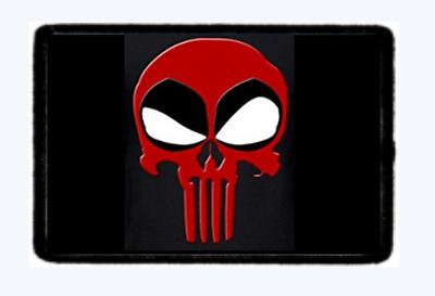 Deadpool Punisher Skull. Morale Patch Tactical Hook And Loop. American Seller