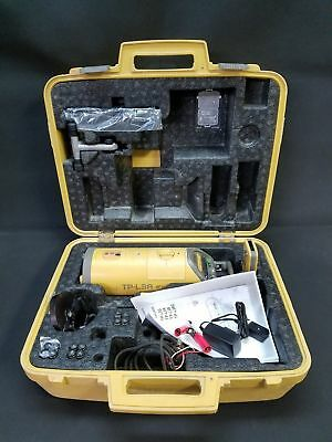 Topcon TP-L3A Red Beam Pipe Laser System with Accessories - 280