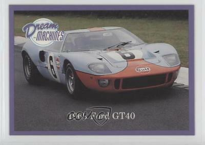 1991 Lime Rock Dream Machines #51 1969 Ford GT40 Non-Sports Card 0c4