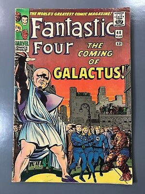 The Fantastic Four No. #48 1st First Appearance Silver Surfer Galactus *KEY*