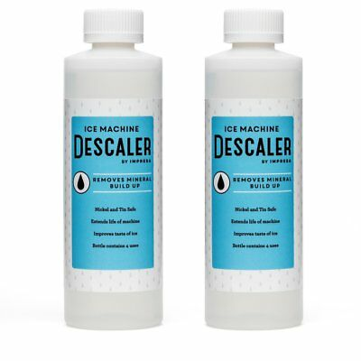 2-Pack Ice Machine Cleaner / Descaler - 8 Total Uses 4 Uses Per Bottle - Made