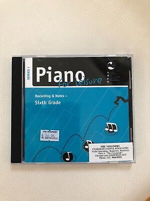 piano for leisure recording and notes series 1 grade 6