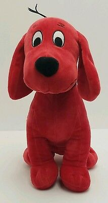 "13"" Inch Clifford the Big Red Dog Stuffed Animal Toy Kohls Cares Plush, 2016"